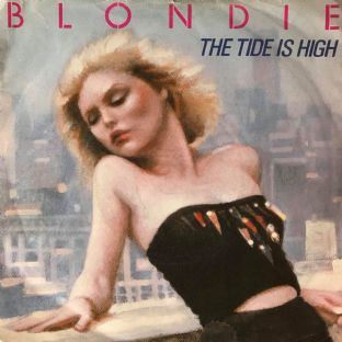 "Blondie ‎- The Tide Is High (7"") (VG-/G-VG)"